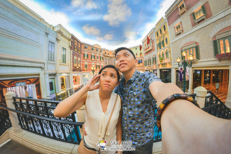A #TCSelfie at Venetian Macau *look at the brightside*