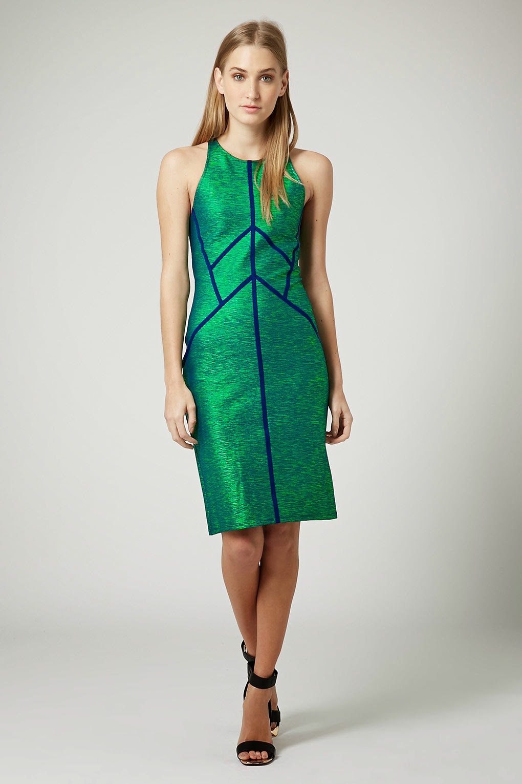 green shiny dress 2015, topshop green and blue dress,