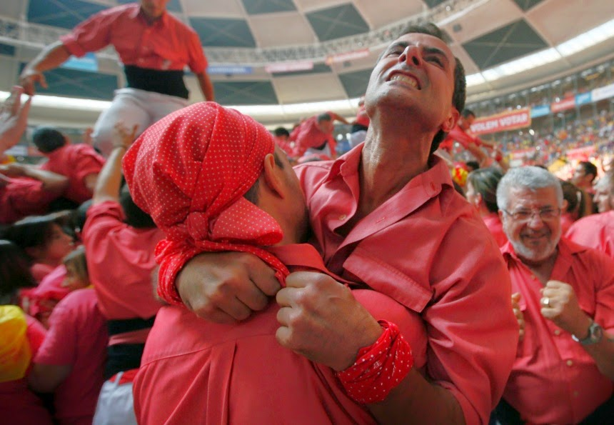 XXV Human Towers of Tarragona in Pictures   Catalonia's Human Towers