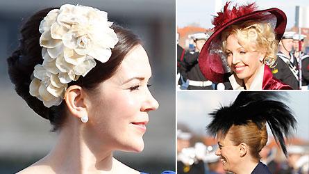 hatte til bryllup