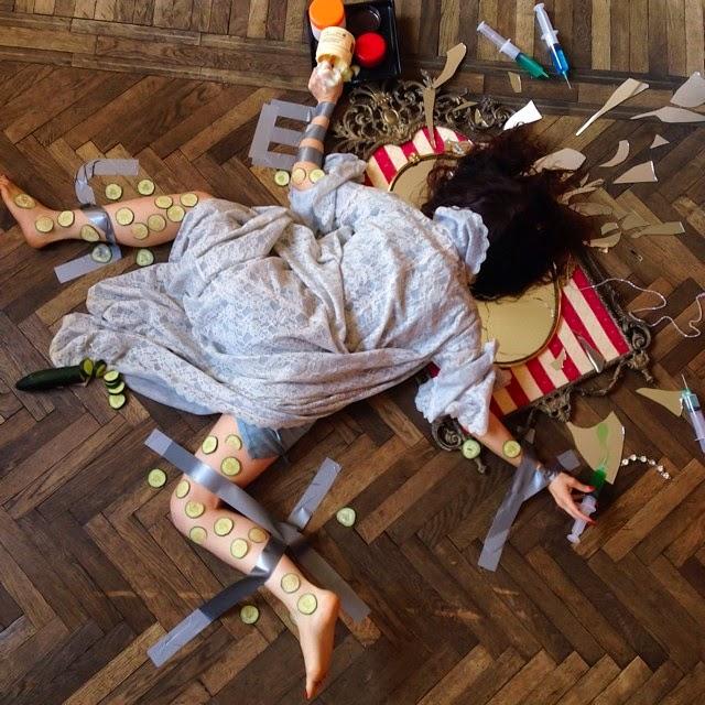 personas cayendo al suelo
