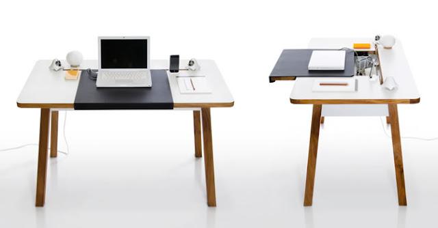 Комп'ютерний стіл StudioDesk що приховує всю проводку всередині