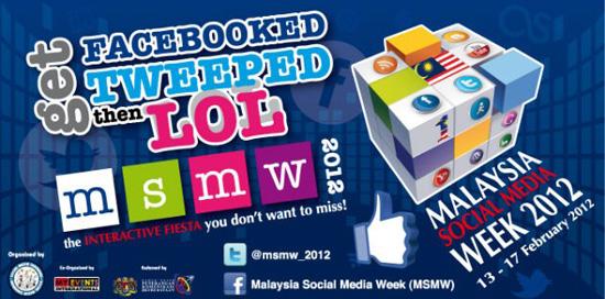 Lepak di Malaysia Social Media Event 2012