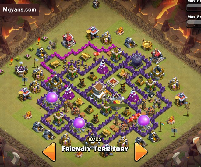 Base Th 8 Terbaik Terkuat anti giants dan hogs 1