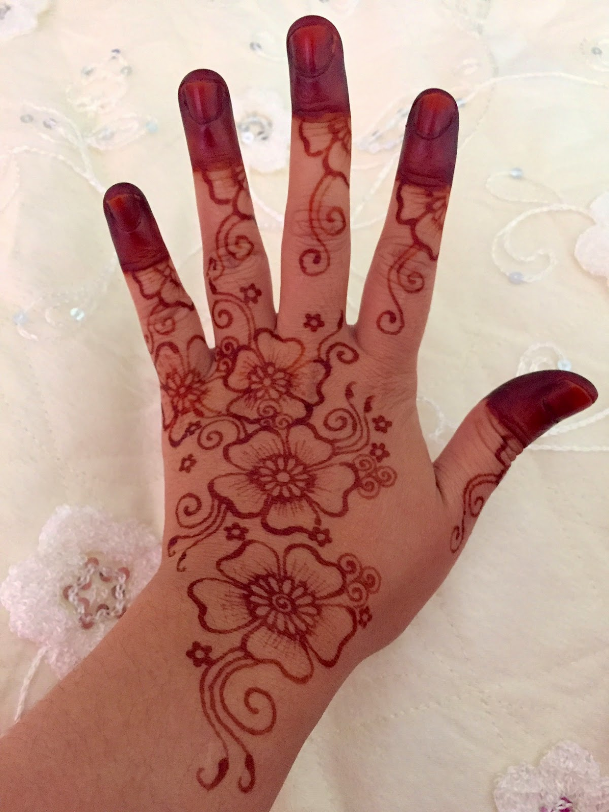 FNday Wedding Review Bridal Henna Never Ending Stories