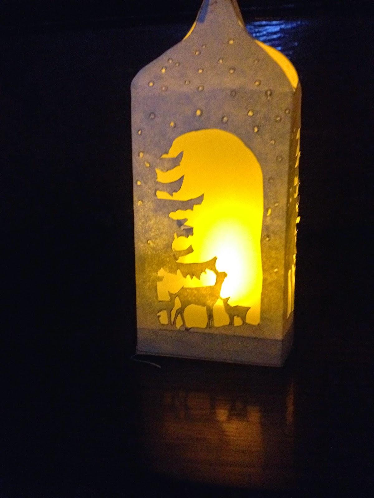Les diy de fishounette lanterne en papier - Lanterne en papier ...