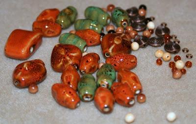 Summer Color Surprise blog hop: ceramic, antique bronze :: All Pretty Things