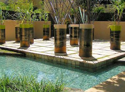 Arte y jardiner a el jard n minimalista urbano ejemplo for Jardineria decoracion exteriores