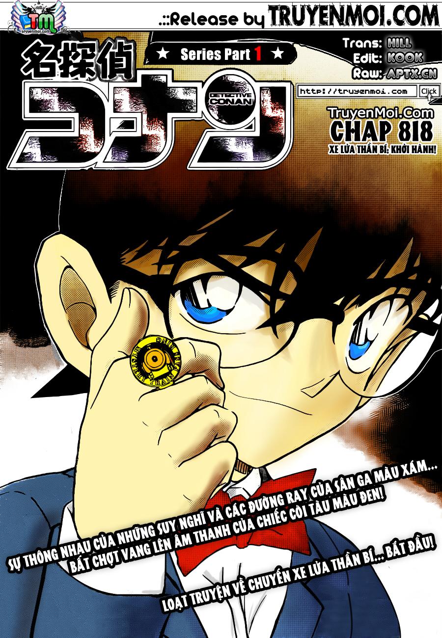 Detective Conan - Thám Tử Lừng Danh Conan chap 818 page 17 - IZTruyenTranh.com