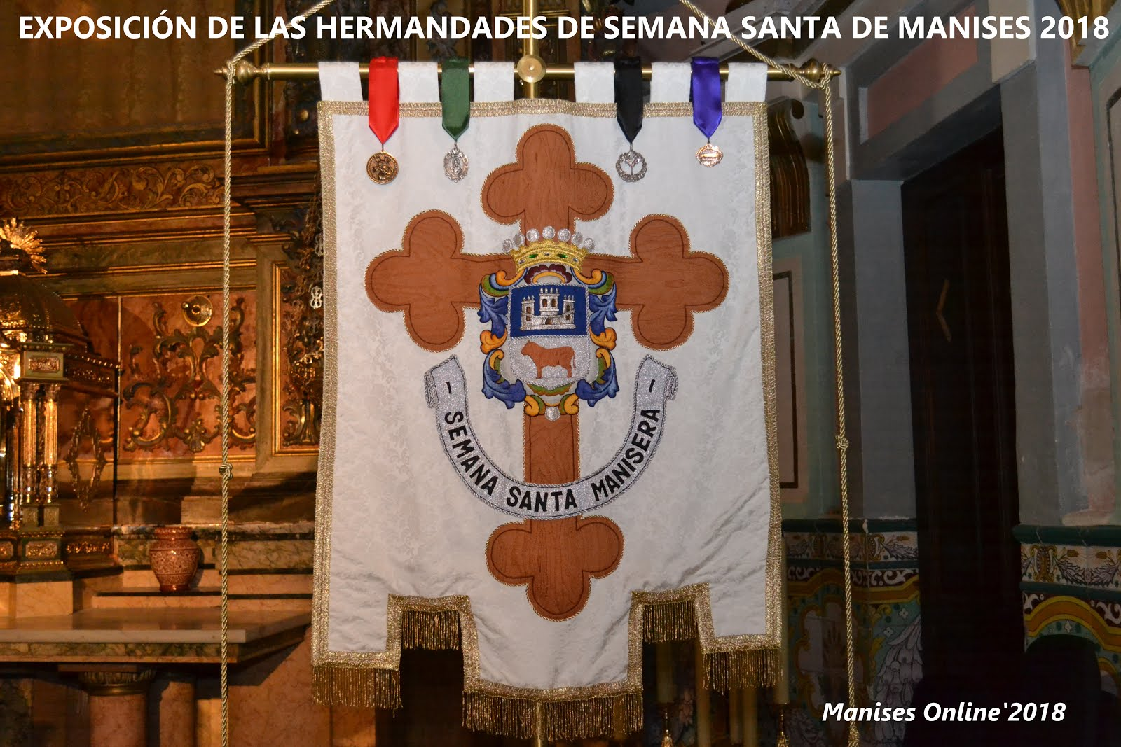 13.03.18 SEMANA SANTA 2018: EXPOSICIÓN DE LAS IMAGENES DE LAS HERMANDADES EN LA PARROQUIA D S J BTA