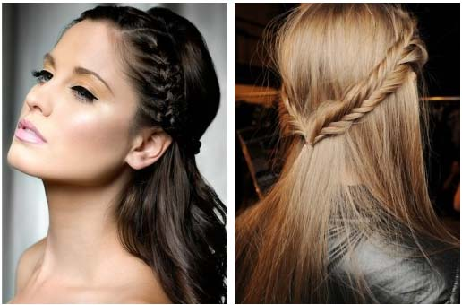 Simple Hairstyle For Occasion : Stylish half up do hairstyles hairstyle haircut