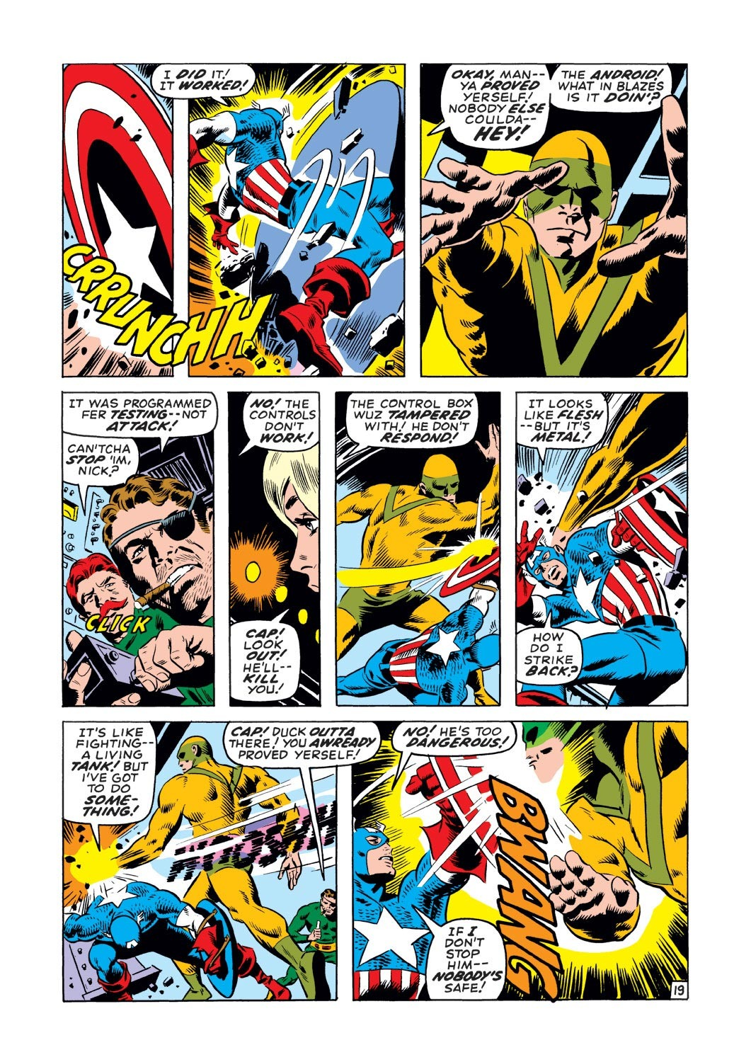 Captain America (1968) Issue #127 #41 - English 19