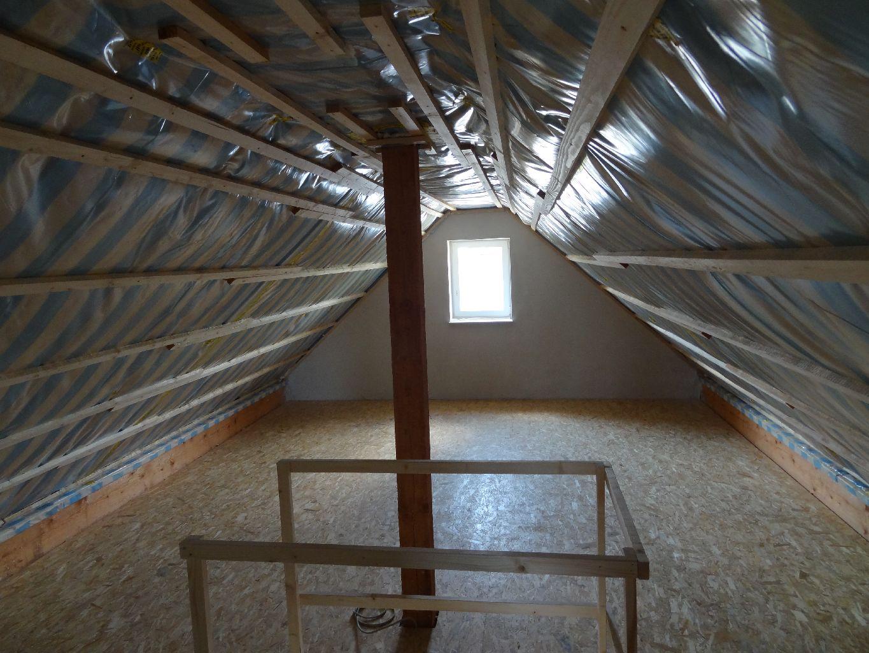Unser Haus Entsteht Fliesen Teil 12 Dampfsperre Dachboden