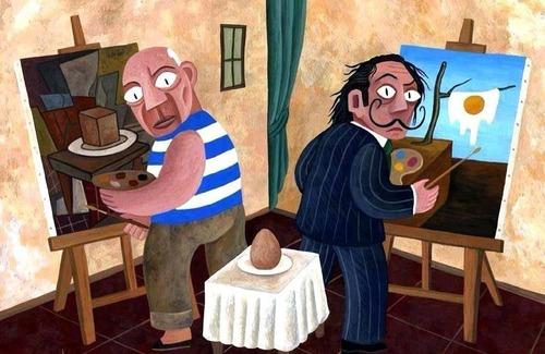 Puntos de vista: Picasso Vs. Dalí