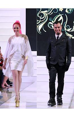 Selebriti di Panggung Jakarta Fashion Week