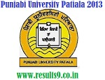 Punjabi University M.A English IV Semester Results 2013