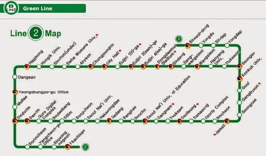 สถานที่ท่องเที่ยวบนเส้นทางรถไฟฟ้า Line 2