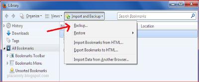 Cara Bookmark Situs Secara Permanen