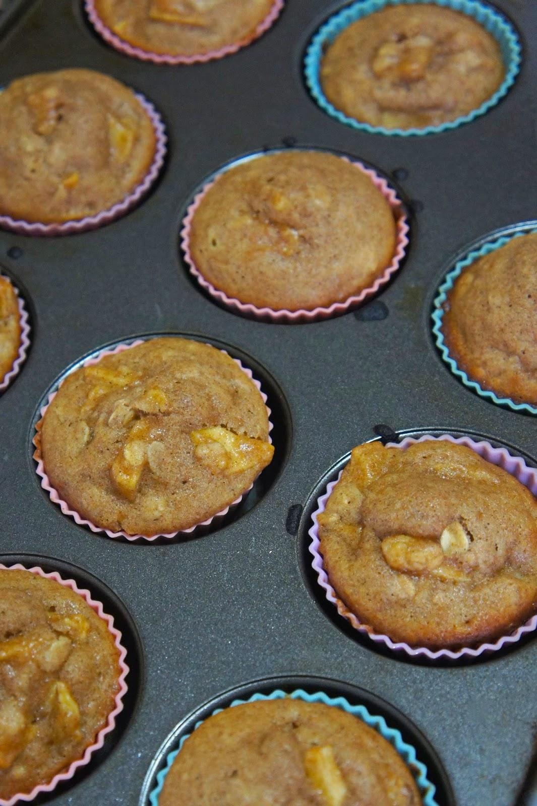 Whole Wheat Apple Cinnamon Oatmeal Muffins: Savory Sweet and Satisfying