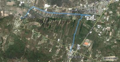 Ruta Buenavista - Santa Cruz de las Flores - Cofradía