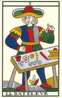 37d123288e376 Les Secrets du Tarot  LE BATELEUR (Arcane 1)