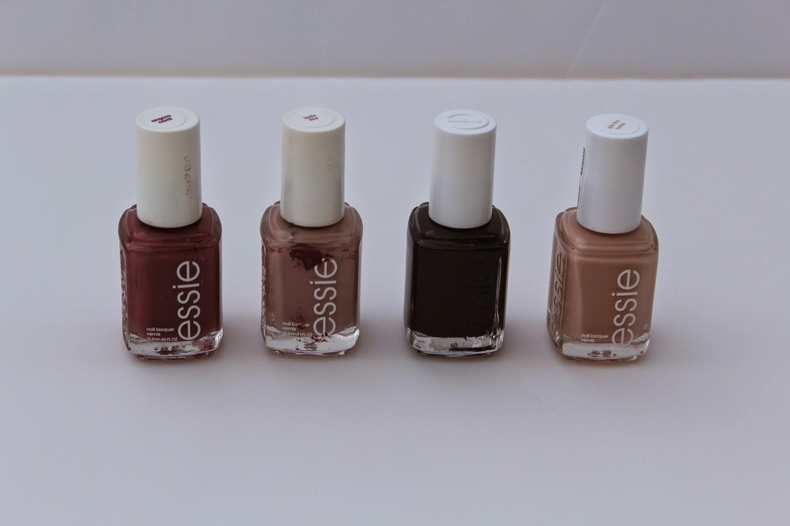 Aubrey Zaruba: fall faves...nail polish