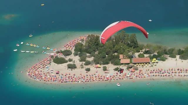 Paragliding - Olüdeniz, Turquia