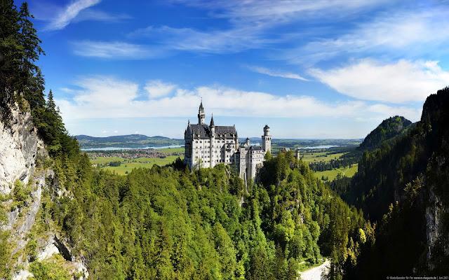 Castillo Neuschwanstein, Alpes de Baviera, Alemania