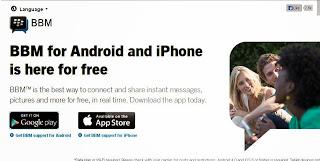 Download BBM untuk Android dan Iphone