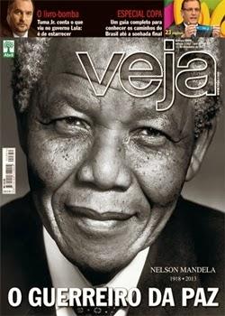 Revista Veja O Guerreiro da Paz