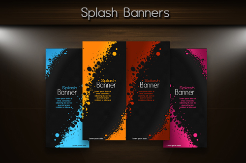 Photoshop Tutorial Simple Technic Splash Banner