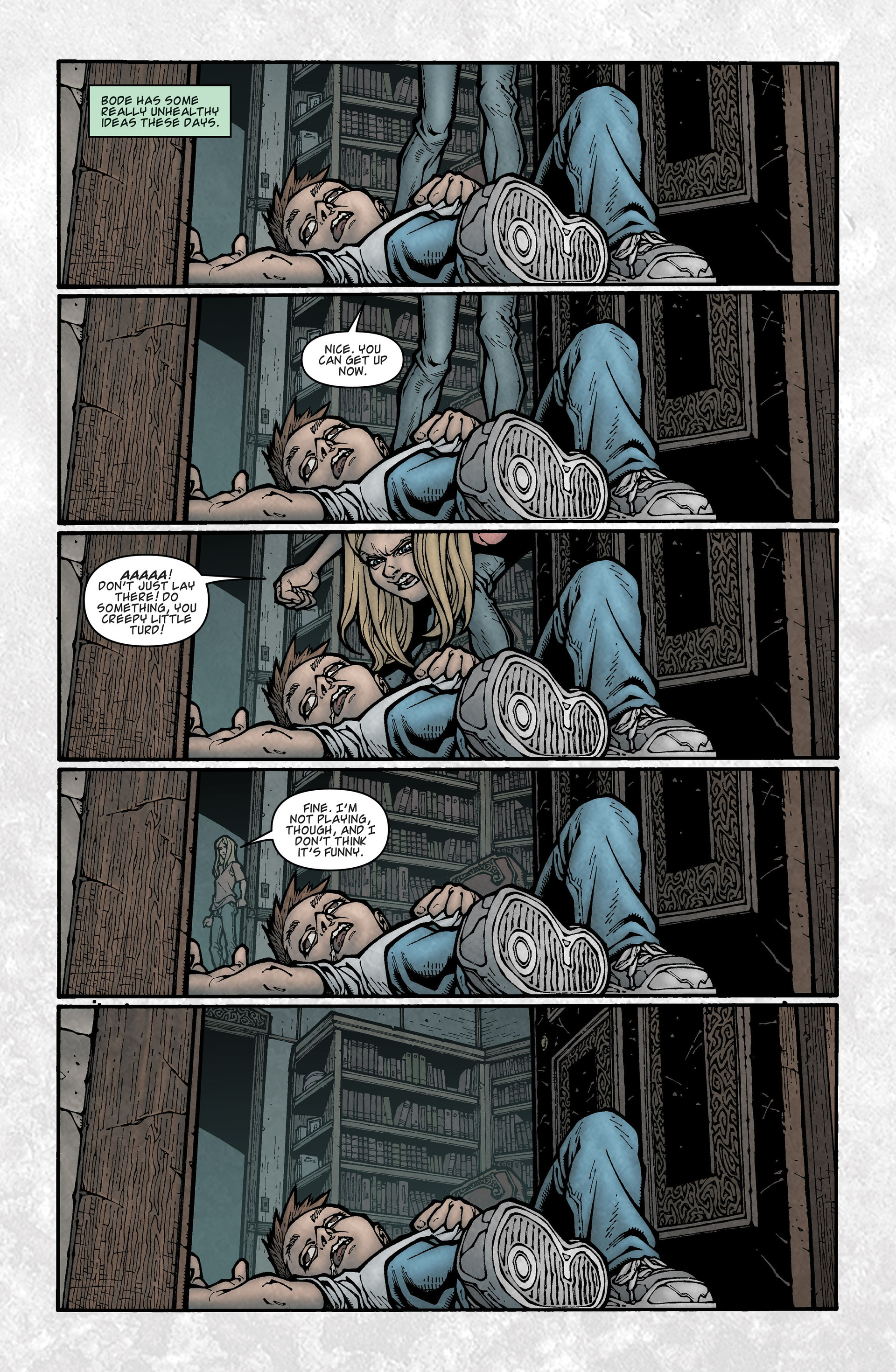 Locke & Key (2008) Issue #3 #3 - English 13