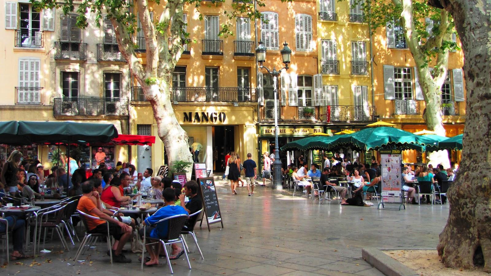 Une carte-postale de...: Lundi 13 - Aix-en-Provence