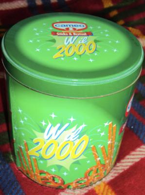 scatola di latta cameo sticks & bretzel