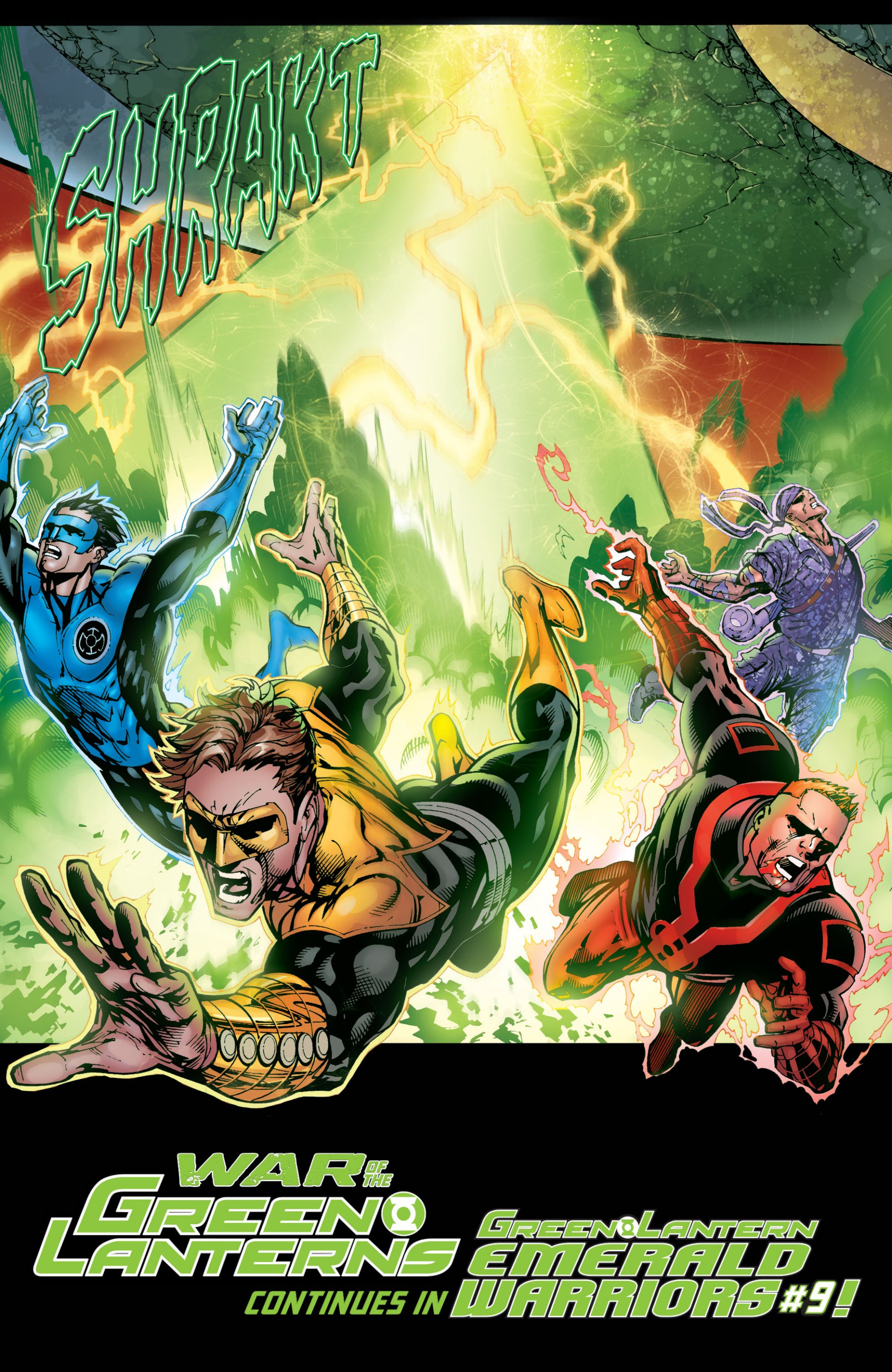 Read online Green Lantern Corps (2006) comic -  Issue #59 - 19