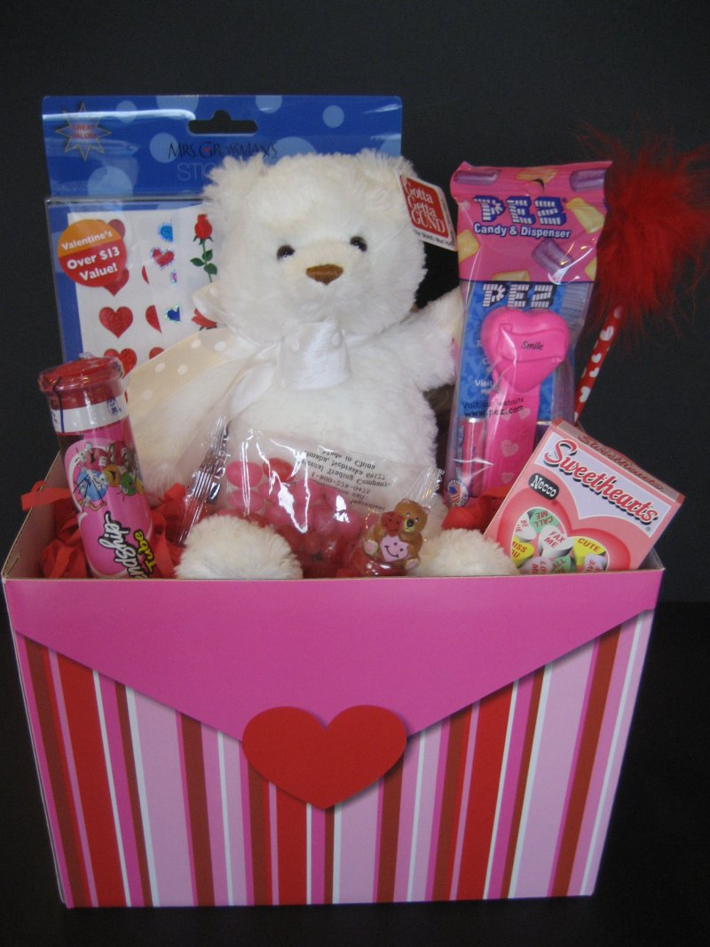 Stretching The One Income Dollar Valentine S Day Gift Baskets For