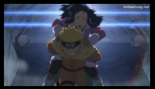 Naruto saves princess, Naruto the Movie: Ninja Clash in the Land of Snow