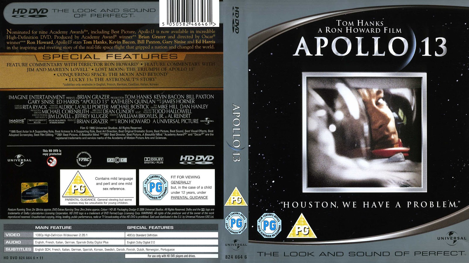 Capa Bluray Apollo 13