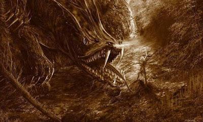Fafnir - Naga Mitologi Skandinavia