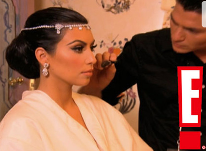 kim+kardashian+wedding+makeup+beauty+mario+dedivanovic Kim Kardashians Wedding Makeup!