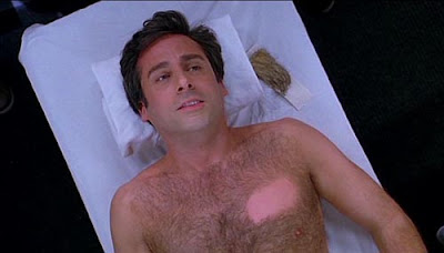 watching for botox, julia lesage, hugo, body image, body hair, steve carell, 40 year old virgin