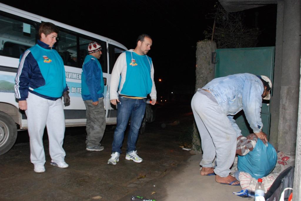 Prefeitura intensifica serviço de abordagem social com moradores de rua
