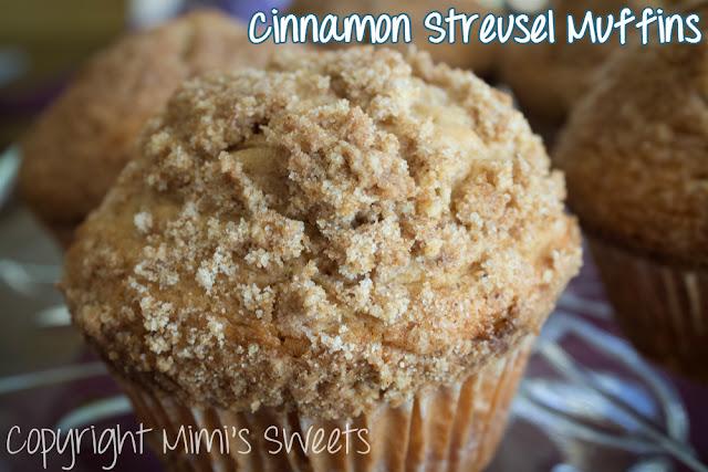 Jumbo Cinnamon Streusel Muffins