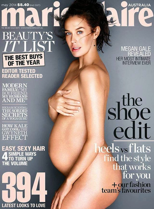 Megan Gale covers Marie Claire Australia May 2014