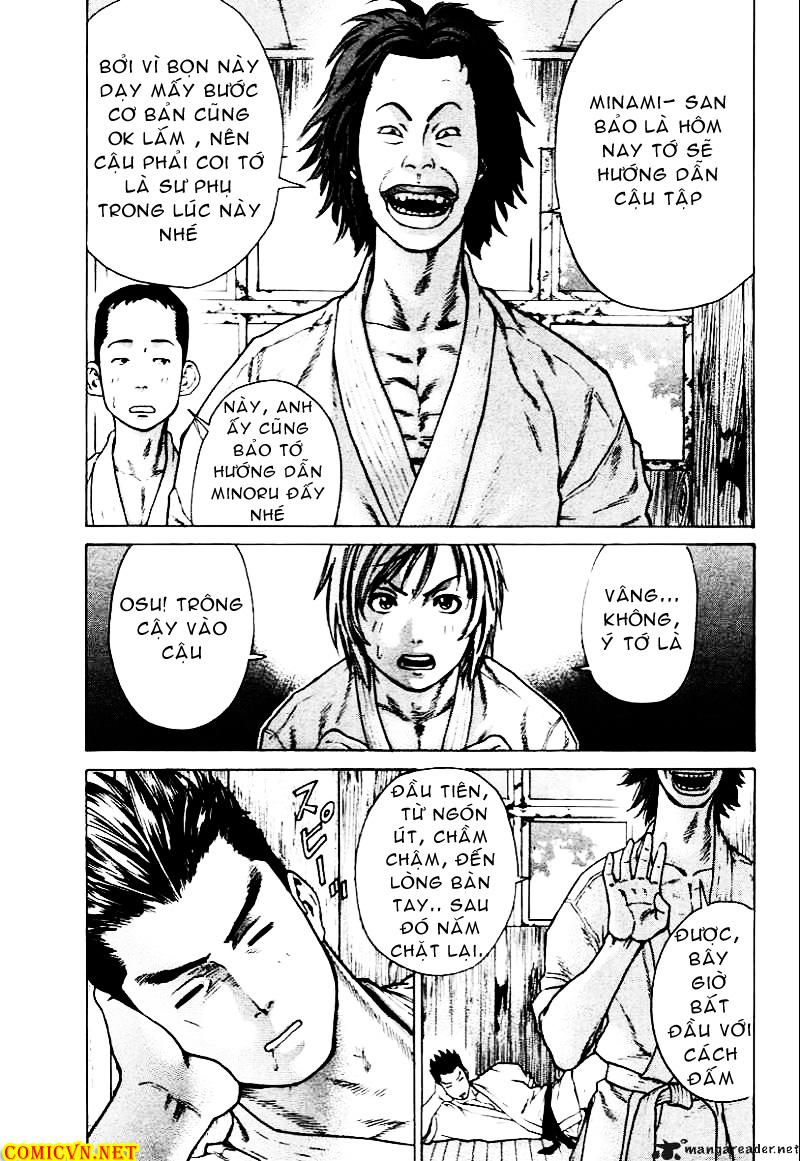 Karate Shoukoushi Kohinata Minoru chap 9 Trang 13