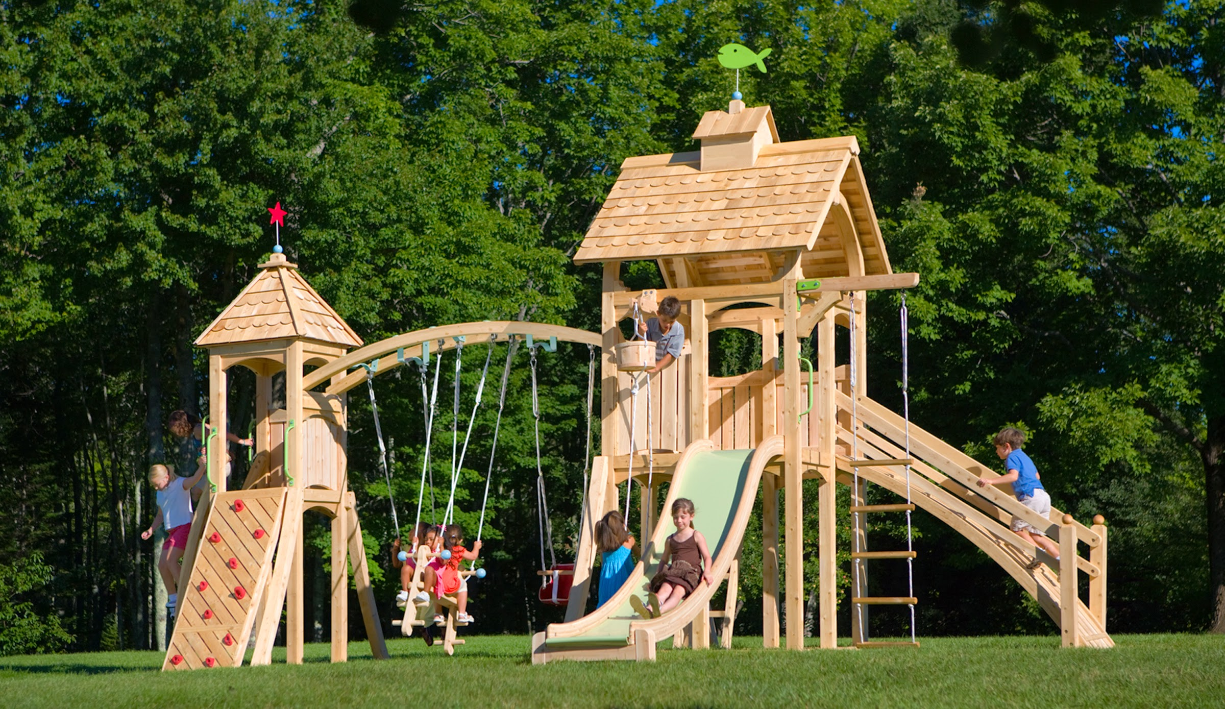 Play Sets Outdoor big