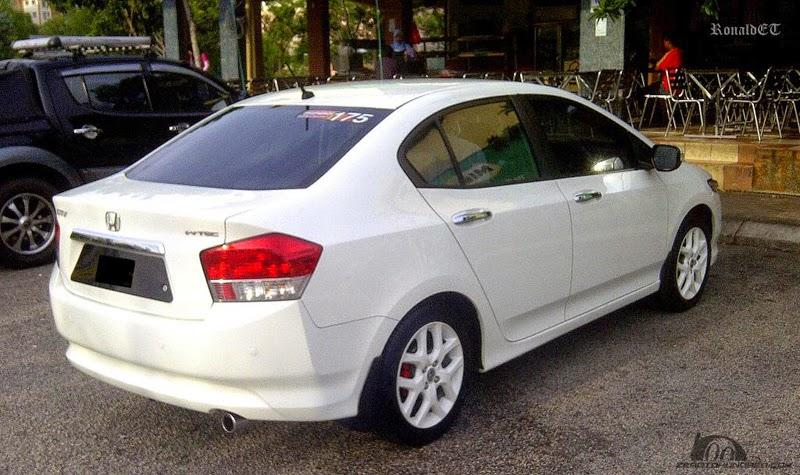 Modifikasi Mobil Honda City Putih