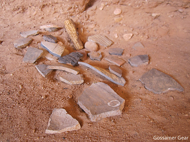 grand gulch pottery shards