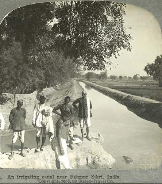 நூறு ஆண்டுகளுக்கு முன்பு ! Irrigation+Fathepur+Sikri+1908