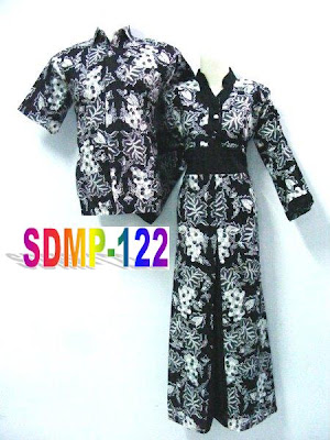 MODEL LONGDRESS BATIK PASANGAN MODERN
